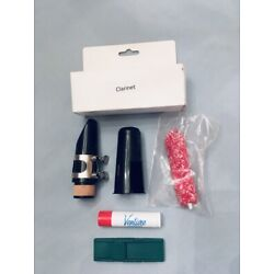 JZM Bb Clarinet Mouthpiece Kit w Cork Grease, Reedguard and MP Saver Free Ship