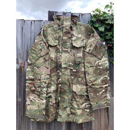 img-MTP CAMO WINDPROOF COMBAT SMOCK 2 JACKET - Sizes , British Army Issue , NEW