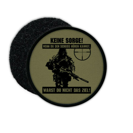 img-Patch German Sniper Sniper Shots Bundeswehr Bw Germany #26899