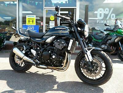 KAWASAKI Z900RS 2018 LOTS WITH EXTRAS