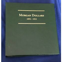 Kyпить MORGAN DOLLARS 1892-1921 COIN ALBUM - NO COINS - LITTLETON - NEW -JBS249 на еВаy.соm