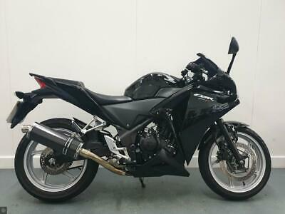 HONDA CBR250R 2011 BLACK - LOW MILEAGE CARBON EXHAUST, HEATED GRIPS and MORE!