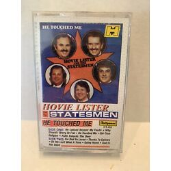 HOVIE LISTER & THE STATESMEN HE TOUCHED ME CASSETTE TAPE - New Sealed