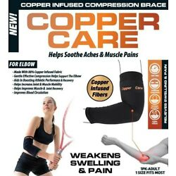 Copper Care - Copper Infused Compression Brace for Elbow - 1Pack