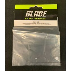 BLADE EFLH1068 = REPLACEMENT PINIO & DRIVE GEAR FOR SERVO (NEW)