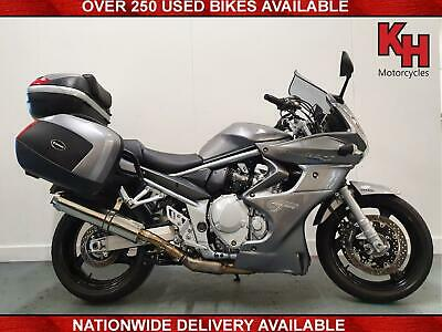 SUZUKI GSF1250 BANDIT GRANT TOURING 2009 SILVER PANNIERS and TOP BOX