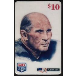 Kyпить Football Quarterback : Y.A. Tittle (NY Giants, 49ers, Colts 1948-64) Phone Card на еВаy.соm