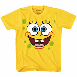 Kyпить SpongeBob Squarepants Face Youth Kids T-Shirt на еВаy.соm