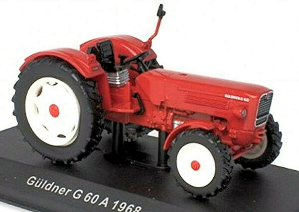 AllemagneGakou G 60 A - 1968 Tracteur  Rouge 1:43