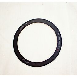 Kyпить Canon OEM EF 24-105mm f/4 L IS USM Front Name Makeup Ring Cover with Adhesive  на еВаy.соm