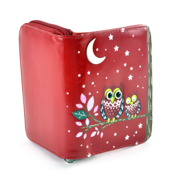 Royaume-UniRed Sleeping Owls  Purse