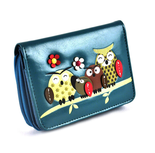 Royaume-UniOwl Rest -  Wallet - Blue
