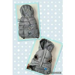 LUV GEAR Urban Puffy Hood Jacket Coat with Cold Alert Indicator Sz XS S