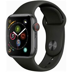 Kyпить Apple Watch Series 4 (GPS + Cellular, 44MM) Space Gray Aluminum Black sport band на еВаy.соm
