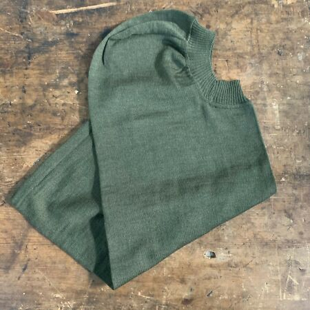 img-OLIVE GREEN HEAD OVER / BALACLAVA HOOD - British Army Issue , New