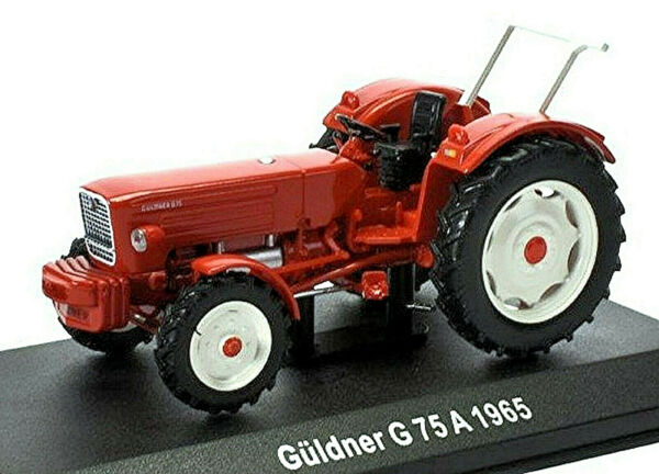 AllemagneGakou G75A - 1965 Tracteur  Rouge 1:43