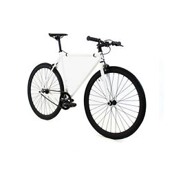 Golden Cycles Shocker White Fixed Gear Single Speed Fixie Bike Bicycle 41cm-63cm