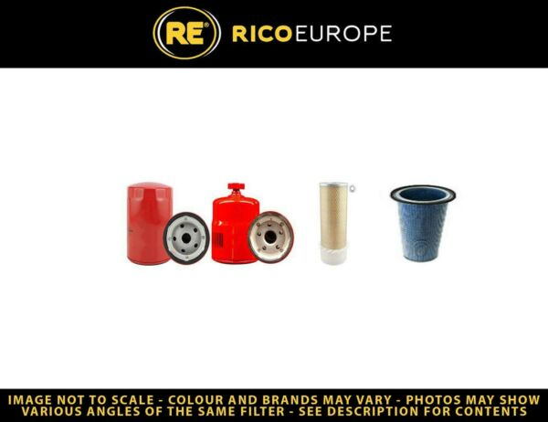 Royaume-UniMUSTANG 552 Kit Filtre Carburant Huile Air W /  ave isuzu Moteur