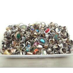Kyпить 50 GRAMS RING LOT ASSORTED STERLING SILVER 925 WHOLESALE RESALE VINTAGE NOW на еВаy.соm