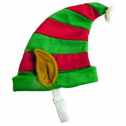 Outward Hound Christmas Elf Hat Christmas Pet Accessory, Large