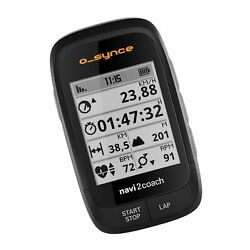 O-Synce Navi2Coach GPS + Power Cycling Computer with Twist Mount RC Edition