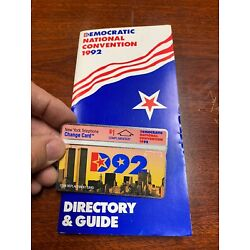 Kyпить 1992 Democratic Convention Change Phone Card New York Clinton Political на еВаy.соm