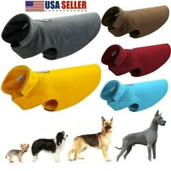 Kyпить Warm Pet Dog Coat Fleece Jacket Jumper Sweater Hoodie Winter Outfit USA Xmas на еВаy.соm