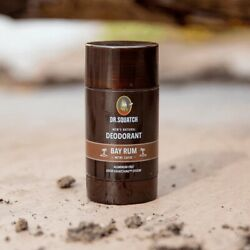 Kyпить Dr Squatch Men's Deodorant Bay Rum Good For The Body Aluminum Free MADE IN USA на еВаy.соm