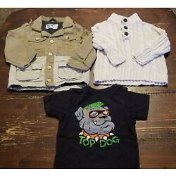 Kyпить 18 Month 18 Months Lot Of Baby Boy Fall Winter Clothes Jacket Sweater на еВаy.соm