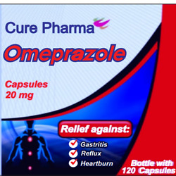 Kyпить OTC OMEPRAZOLE 20 mg 120 Capsules (ULTRA Brand) Acid Reducer Exp Oct/2021 SEALED на еВаy.соm