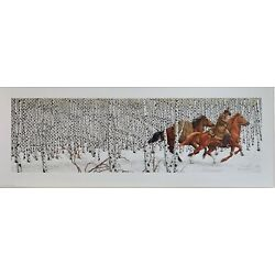 Kyпить SACRED GROUND S/N PRINT BEV  DOOLITTLE MINT CONDITION/NEVER FRAMED на еВаy.соm