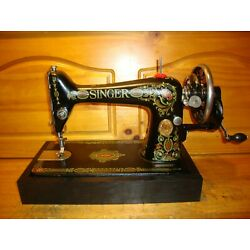 Kyпить ANTIQUE SINGER SEWING MACHINE MODEL 66