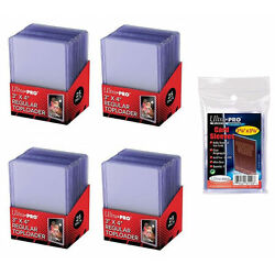 Kyпить 100 Ultra Pro Regular 3x4 Toploaders + 100 soft sleeves New Top loaders на еВаy.соm