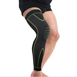 1 Knee Brace Compression Sleeve Support Sport Joint Injury Pain Relief Arthritis