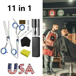 Kyпить Hairdressing scissors Professional Hair Cutting Thinning Shears Set Salon Barber на еВаy.соm