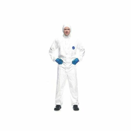img-kleenguard SP disposable coverall hooded hazard suit dust liquid X5 size L (oo)