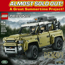LEGO Technic Land Rover Defender 42110 NEW   FREE SHIPPING  LAST ONE LEFT