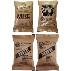 Kyпить MRE U.S. MILITARY 4 Pack  Random Selectiion - MEAL, READY TO EAT на еВаy.соm