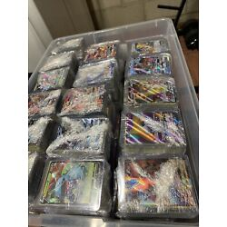 Kyпить Pokemon Card Lot 100 Official TCG Cards Ultra RARE Included | GX EX or Break на еВаy.соm