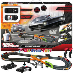 Kyпить Fast & Furious Ultimate Speed Slot Car Racing Track Police Car Dodge Charger NEW на еВаy.соm