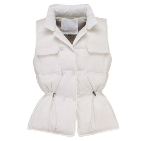 img-Women Duck Down Waistcoat Puffer Vest Padded Quilted Jacket Coat Sleeveless new