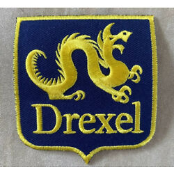 Drexel University Patch Alumni - 3  Embroidered Iron-on Rare Patches Dragon New