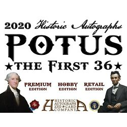 Kyпить 2020 Historic Autographs POTUS 1st 36 Blaster Box на еВаy.соm