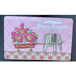 Kyпить World Market Gift Card $50 на еВаy.соm