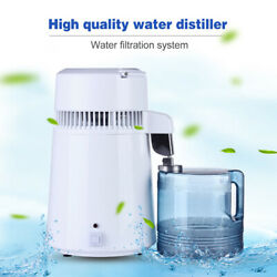 Kyпить 4L Home Pure Water Distiller Filter Water Distilled Machine Dental Distillation  на еВаy.соm