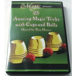 Kyпить DVD MAGIC WITH CUPS AND BALLS на еВаy.соm