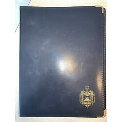 Kyпить US NAVAL ACADEMY SCIENTIA Folder Notebook Binder на еВаy.соm
