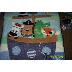 Kyпить Lambs And Ivy Pirate Animals Baby Bedding Set Pirate Crib set Mobile Nursery на еВаy.соm