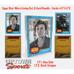 Kyпить Topps Star Wars Living Set® 2-Card Bundle - Cards #171-172 HAN SOLO -  TROOPER на еВаy.соm