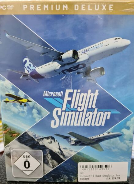 Halle,Deutschland Flight Simulator Premium Deluxe Version für PC
